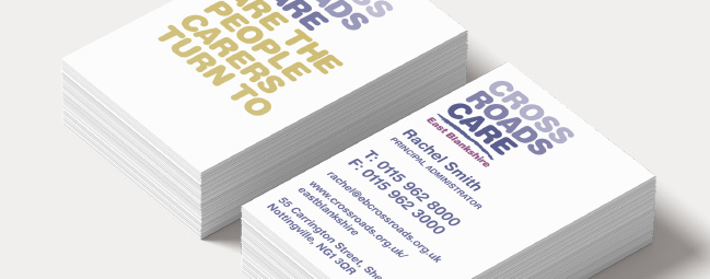 Palm graphics crossroads business cards crossroads care business cards reheart Images